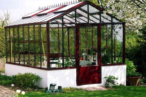 Sal n jard n invernadero invernaderos para hobby - Invernaderos de jardin baratos ...