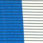 malla sombreo 90% azul y blanco
