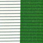 malla sombreo 90% verde y blanco